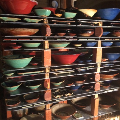 Gas Kiln Pottery
