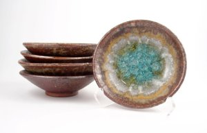 Wasabi Dishes in Copper