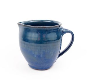 Creamer in Blue w/ Accents