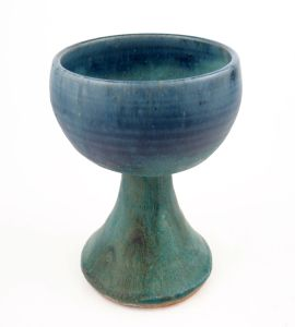 Goblet in Green w/ Accents