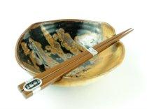 Squared-Off Chopstick Bowl