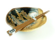 Squared-Off Chopstick Bowl