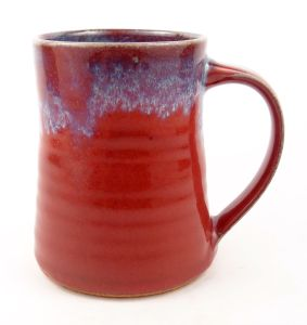 Mug in Red w/ Accents
