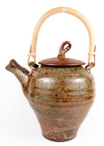 Tea Pot in Sienna