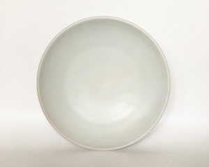 All White Plate