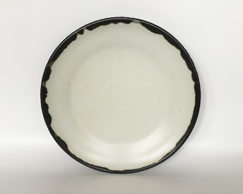 Dinner Plate with Black Rim