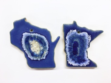Blue WI MN Ornament