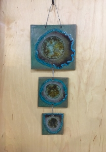 3 Tile Wall Hanging